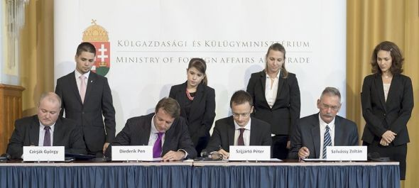 Pilótaképzési központ alapításáról írtak alá szándéknyilatkozatot Budapesten