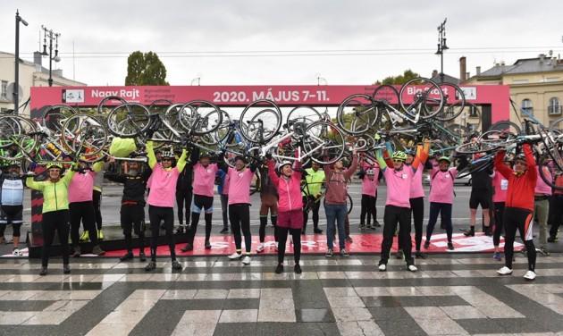VR-szemüvegben a Giro útvonalán