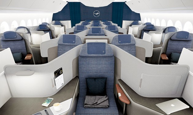 A Lufthansa bemutatta új business class koncepcióját