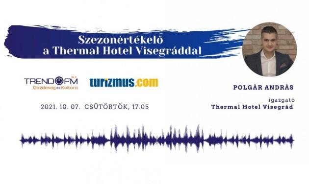 Nyári szezonértékelő a Thermal Hotel Visegráddal – podcast