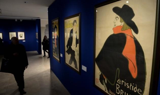 Rómában láthatók a Szépművészeti Toulouse-Lautrec-nyomatai