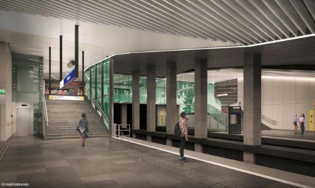 Jövő csütörtökön átadják a 3-as metró felújított déli szakaszát