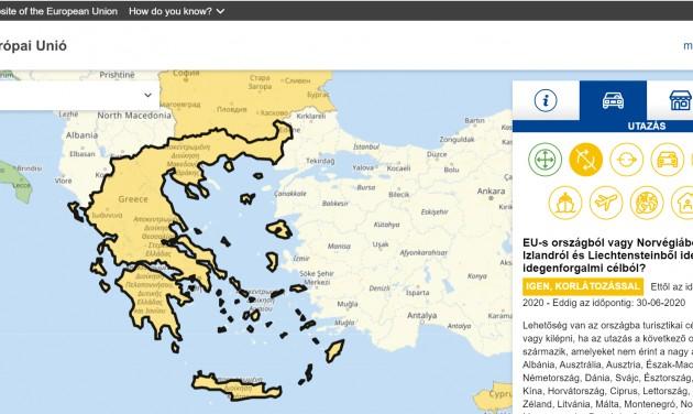 Az uniós határnyitásokról indult folyamatosan frissülő weboldal