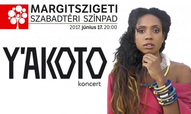 Y'akoto-koncert először Magyarországon