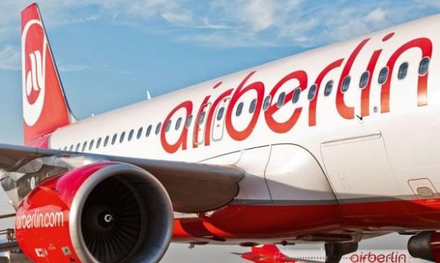 Jóváhagyta az EU az Air Berlin 150 milliós hitelét