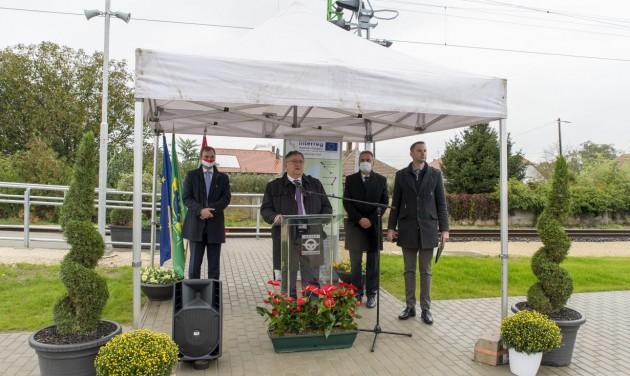 Megújult a Fertőszentmiklós–Fertőújlak vasútvonal