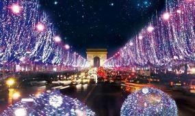 Karácsonyi fények és vásárok Párizsban