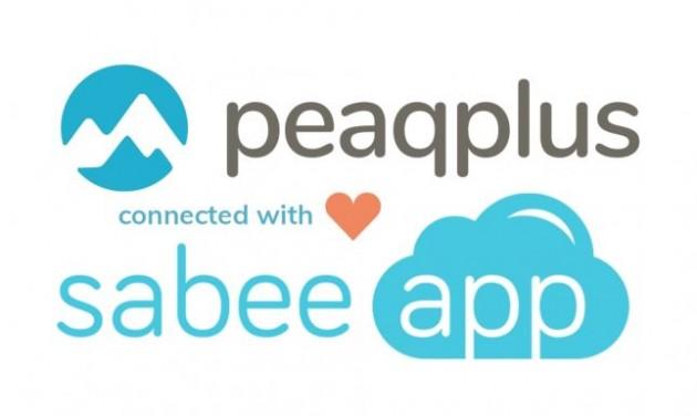 Peaqplus & SabeeApp együttműködés