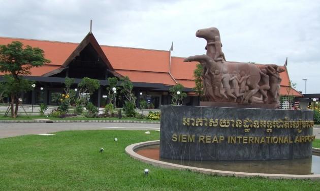 Siem Reap új repülőteret épít