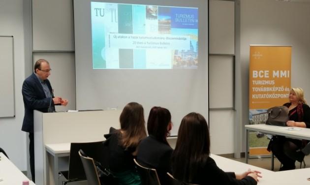 20 éves a Turizmus Bulletin szakmai-tudományos folyóirat