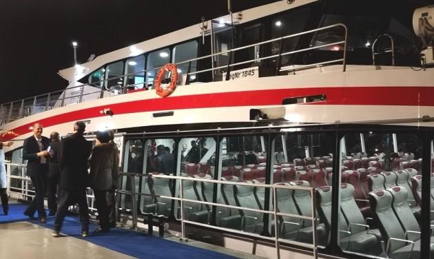 Hamarosan Budapesten a Twin City Liner első tematikus járata