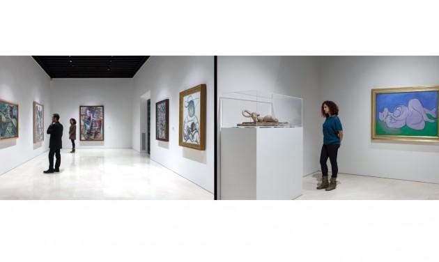 Eddig sosem kiállított művek a Picasso múzeumban