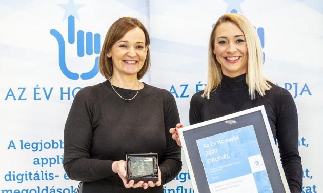 Díjat nyert a Sopron Régió új weboldala