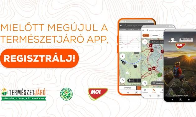 Megújul a Természetjáró app