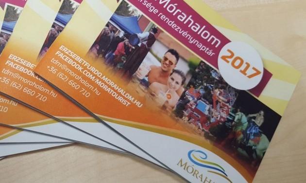 Megjelent Mórahalom és térsége 2017-es rendezvénynaptára