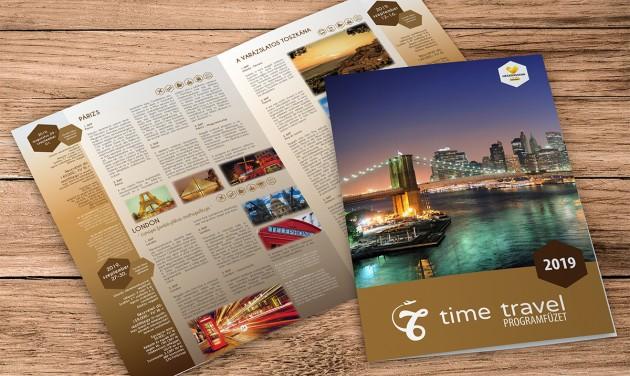 Új repülős utazásokkal bővített a Time Travel utazási iroda