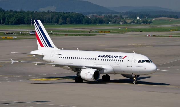Járattörlések az Air France-nál