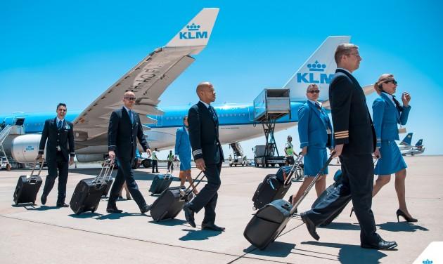 Hétfőn újraindítja budapesti járatát a KLM