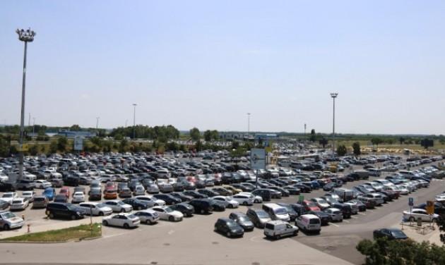 Parkoló-bővítés a Budapest Airporton