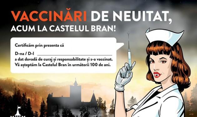 Drakula-hangulatú oltóközponttal csábítja a turistákat a törcsvári kastély