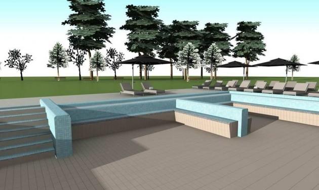 Megújuló szaunasziget és új kültéri medence a ceglédi fürdőben