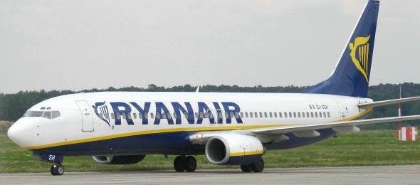 Zuhanórepülésben a Ryanair