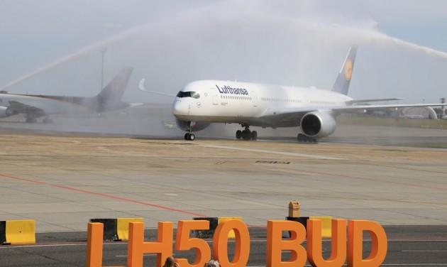 A350-essel ünnepelte évfordulóját a Lufthansa