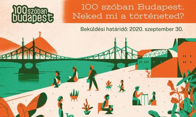 Mondd el 100 szóban a történeted Budapestről! – pályázat