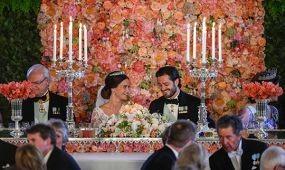 Óriási sikere volt a svéd hercegi pár vegetáriánus esküvői vacsorájának