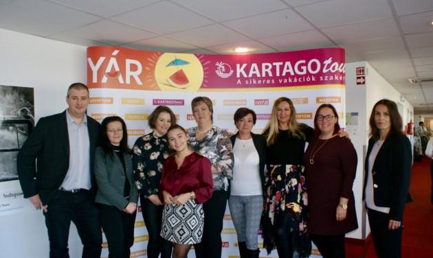 Kartago Tours: nyári előfoglalási futam régi és új úti célokkal