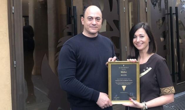 Best of Az Év Hotele: a 2010-es évek legjobb északkelet-magyarországi szállodáját díjazták