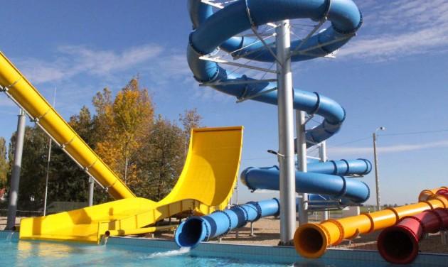 Új csúszdapark nyílik a mezőkövesdi Zsóry-fürdőben