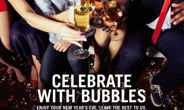 Újévi csomag – ünnepeljen buborékokkal!