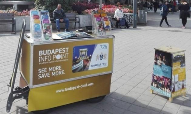 Pályázati felhívás Budapestinfo Point közterületi turisztikai információs pultok üzemeltetésére
