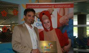 KidsOasis minősítés a Thermal Hotel Visegrádnak
