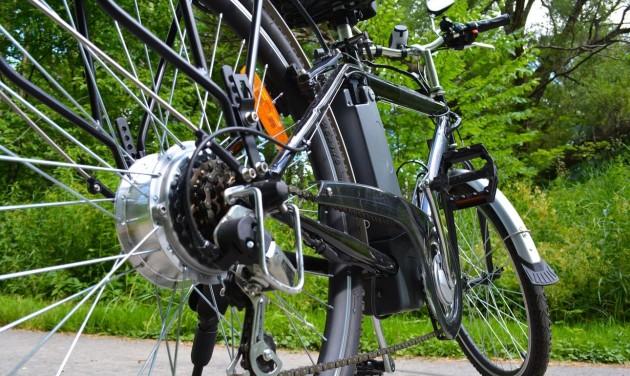 Hétfőtől lehet pályázni az elektromoskerékpár-vásárlás támogatására