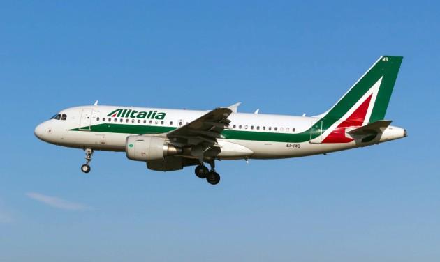 161 járatot töröl az Alitalia a pénteki sztrájk miatt