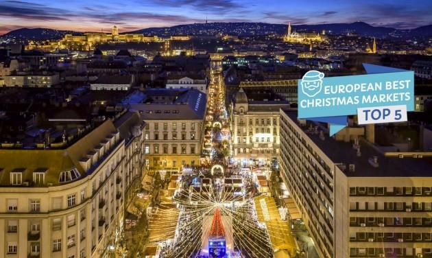 Európa negyedik legjobb karácsonyi vására budapesti