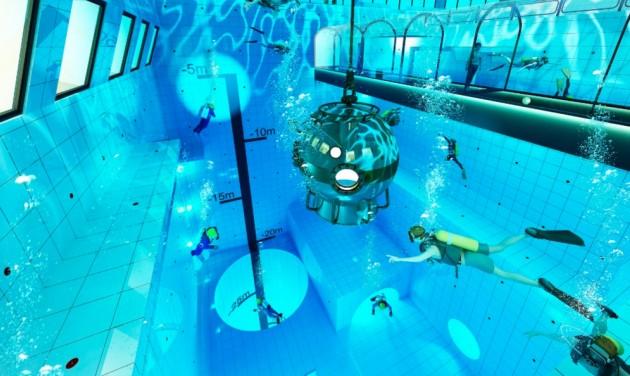 Hamarosan nyílik a világ legmélyebb medencéje
