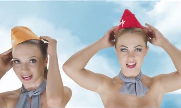 Szexista reklám a légi közlekedésben