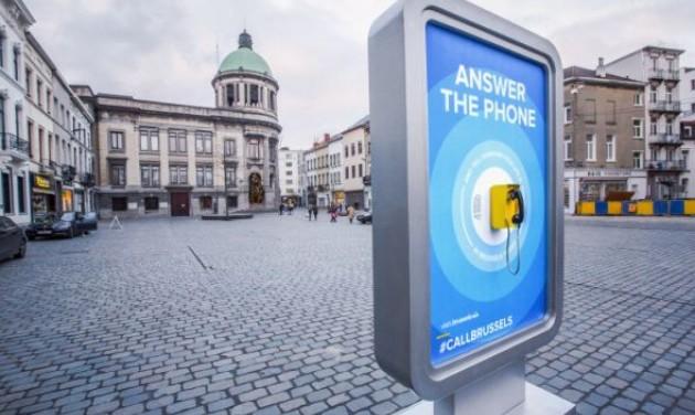 Nagy sikere van a turistacsalogató telefonoknak Brüsszelben