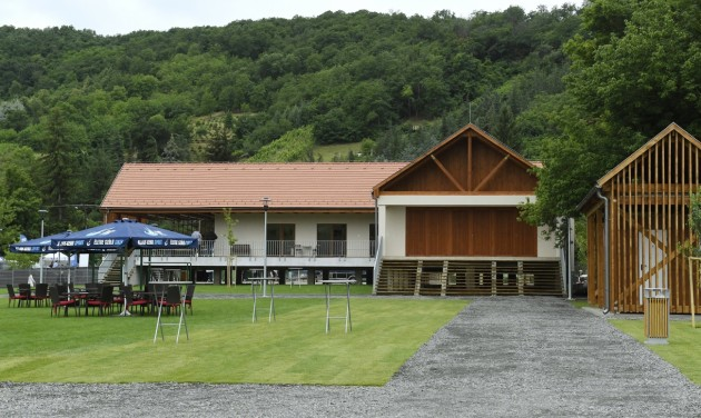 Átadták a Tokaji Vízitúra Központot