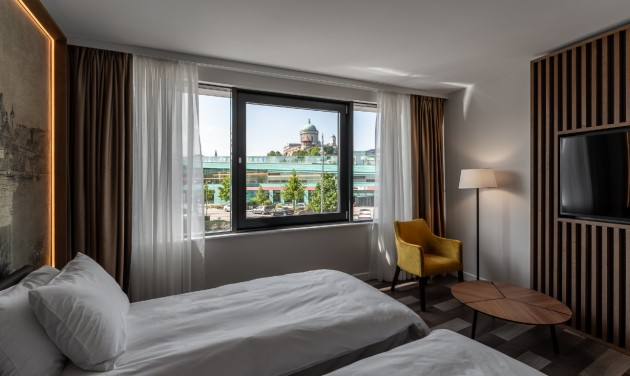 Megnyílt a Grand Hotel Esztergom