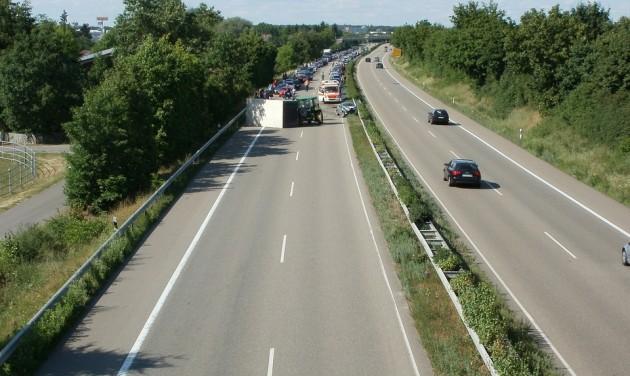 Dugók a német autópályákon
