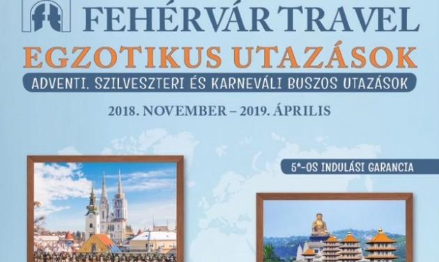 Megjelent a Fehérvár Travel 2018-19. évi téli katalógusa