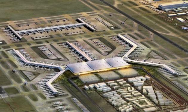Isztambul: ambíciózus repülőtéri fejlesztés