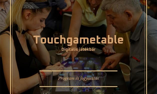 Touchgametable az Aquaworldben