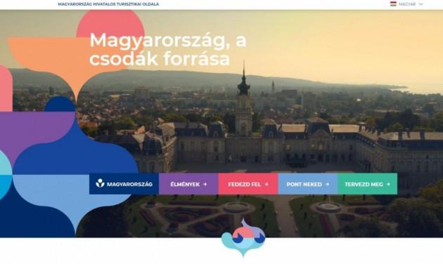 Megújult Magyarország belföldi turisztikai honlapja, a csodasmagyarorszag.hu