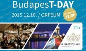 BudapesT-Day - MA ESTE!