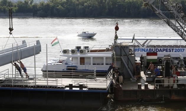 A vizes vb fontos közlekedési útvonala lesz a Duna
